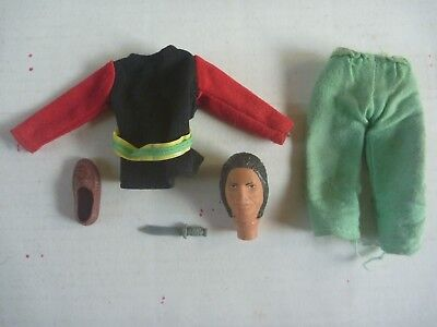 "vintage MEGO World's Greatest Super Heroes COCHISE 8"" toy figure parts WILD WEST"