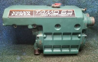 Volvo Penta TAMD 63P D6 Turbo Diesel Heat Exchanger Tank 3828572 Reservoir Core