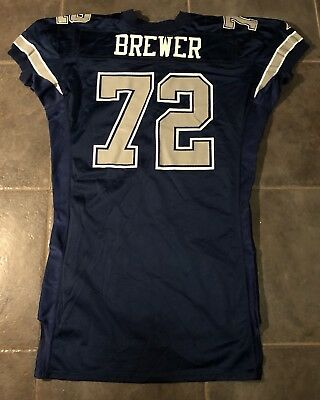 Dallas Cowboys 1994 Apex Brewer Game Issued Jersey sz 54 long 75 Anniversary 6e8c1c64c