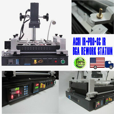 ACHI IR-PRO-SC IR BGA Rework Station Reflow Reball Upgraded For Xbox 360 PS3 2KW