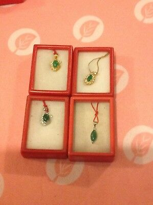 Assorted Chinese Jade Set Of 4 Imported From China