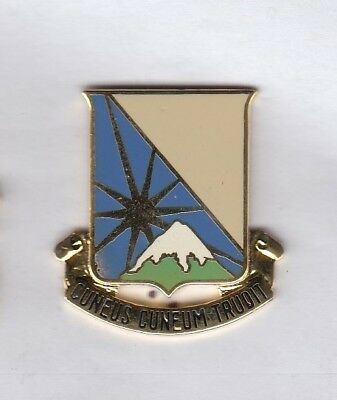 US Army 129th Transportation Command crest DUI badge I-21