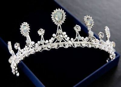 Hair Jewelry Wedding Bridal Rhinestone Crystal Headband Prom Crown Pageant Tiara