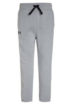Under Armour Girl's Kid's Tracksuit Bottoms Trousers Sports Lounge Grey M New