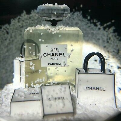 New CHANEL Snow Globe Dome Christmas Gift Limited VIP Customer Benefits Fog Gold