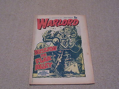 WARLORD comic No 8, Nov 16th 1974, good condition