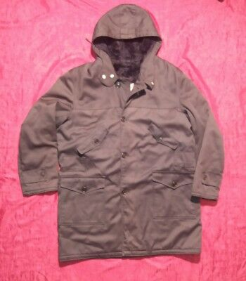VINTAGE 70's ESCHIMO ESKIMO BLU by NAT SPORT PARKA ANORAK MADE IN ITALY