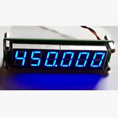 2x PLJ-6LED-H Blue 1MHZ-1000MHz RF Signal Frequency Counter Cymometer Tester