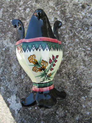 ancienne faience Henriot quimper vase tulipiere