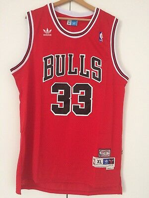 Canotta nba basket Scottie Pippen jersey Chicago Bulls maglia Retro S/M/L/XL/XXL
