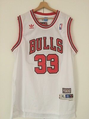 Canotta nba basket Scottie Pippen jersey Chicago Bulls Retro maglia S/M/L/XL/XXL