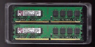 MEMORY RAM Kingston KVR 2 x 1gb (2GB)