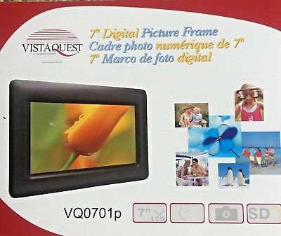 VistaQuest 7in. Digital Picture Frame
