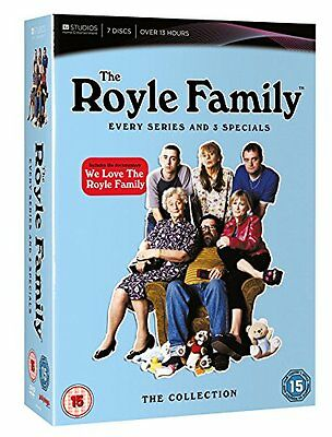 The Royal Royle Family Every Series And 3 Specials DVD Box Set *New & Sealed*