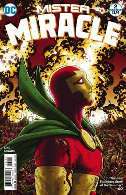 MISTER MIRACLE ISSUE 2 - FIRST 1st PRINT NICK DERINGTON VARIANT COVER - TOM KING