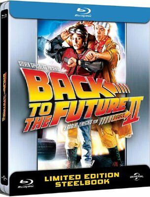 Back To The Future 2 - Limited Anniversary Edition Steelbook - Blu-ray