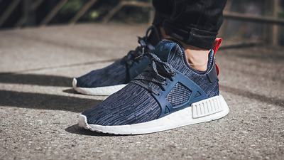 Details about Adidas NMD XR1 Runner Primeknit Blue Womens Boost Trainers Size UK 5 EU 38 Rare