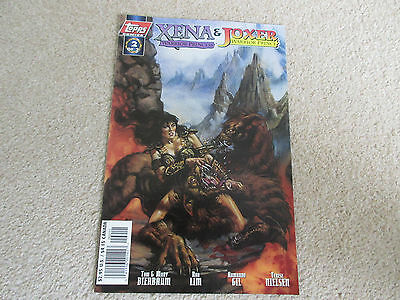 XENA Warrior Princess & Joxer Warrior Prince No 2 -Dec 1997, Topps Comics