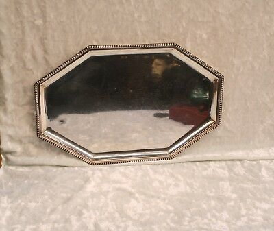 """Magnificent 1900 European 800  Sterling Silver  Tray . """" Must See """""""