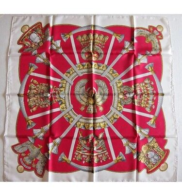 pre-loved authentic HERMÈS silk scarf  EGYPTE