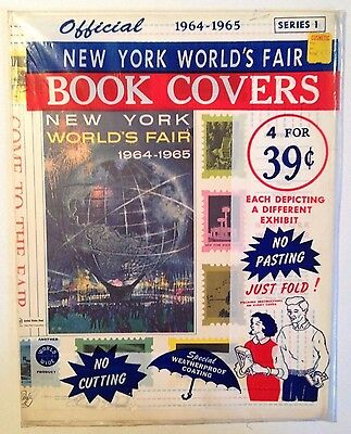 1964-65 New York World's Fair Official Book Covers (original packaging)