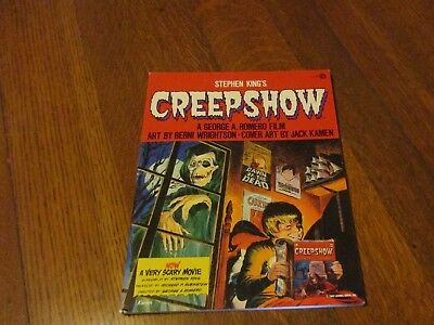 Stephen King Creepshow Signed true first edition very nice