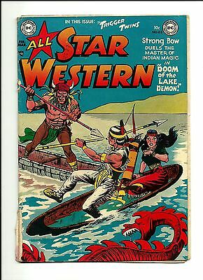 1952 DC Comics All Star Western # 63 PR 0.5 Condition
