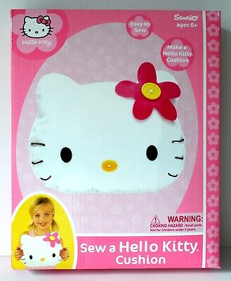 SEW a HELLO KITTY Cushion Kit by NKOK Inc. Brand NEW in Original BOX