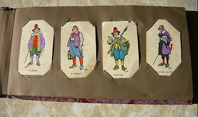 """Cigarette Card Album- 20 pages - 36 Cards inside """"Merrie England""""W D & H O Wills"""