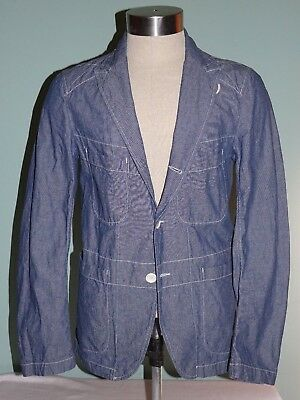 Engineered Garments Bedford Chambray Jacket S/S 10 size Small Nepenthes