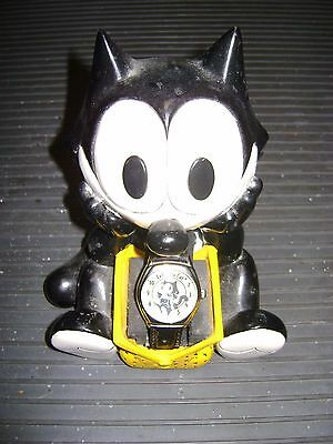 Felix The Cat Figurine and Watch Limited Edition - Bag of Tricks - Attic Find