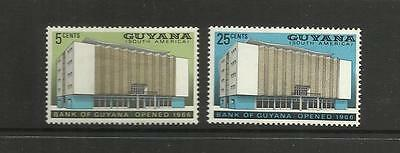 Guyana ~ 1966 Opening Of Bank Of Guyana (Mint Set Mh)