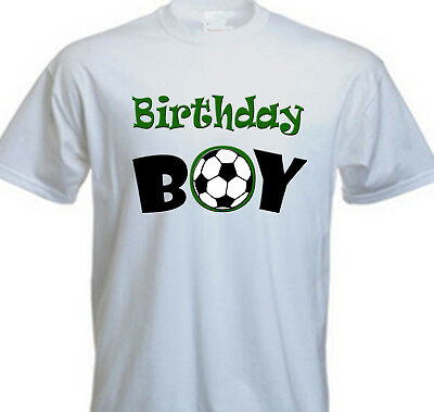 Soccer Mania Birthday Boy Shirt Add Name AGE Personalized Family Party