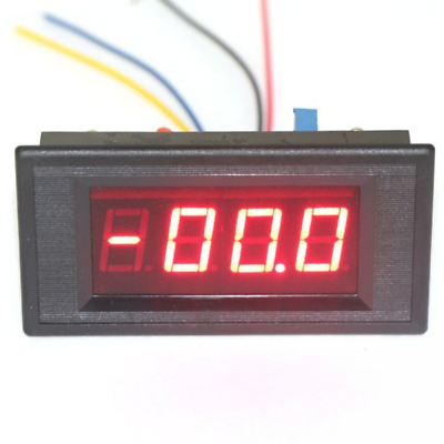 0-200ua dc micro amp current meter digital ampere tester red led ampere meter