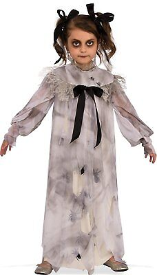 Halloween Costumes For Kids Scary.Sweet Screams Dress Creepy Doll Scary Little Girls Child Halloween Costume Sm Lg