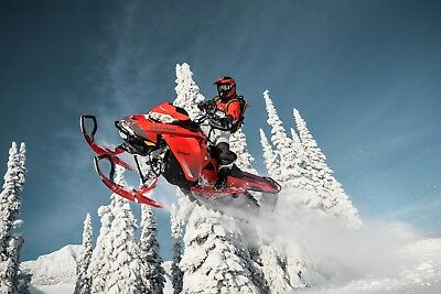 2019 SKI-DOO SUMMIT 850 POSTER IN STOCK G4 snowmobile  MXZ 36x24""