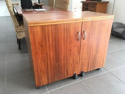 sewing cabinet - great used condition