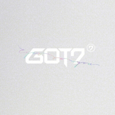 GOT7 [EYES ON YOU] 8th Mini Album CD+POSTER+L.POSTER+P.Book+3p Card+GIFT CARD