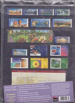 2000 Collection Of Australian Stamps Unopened Beautiful Xmas Present.