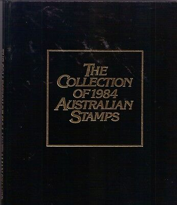1984 Collection Of Australian Stamps  Black Beautiful Xmas Present.