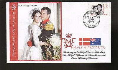 Princess Mary & Frederick 2005 Aust Royal Tour Cover 10