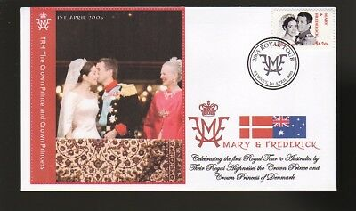 Princess Mary & Frederick 2005 Aust Royal Tour Cover 7
