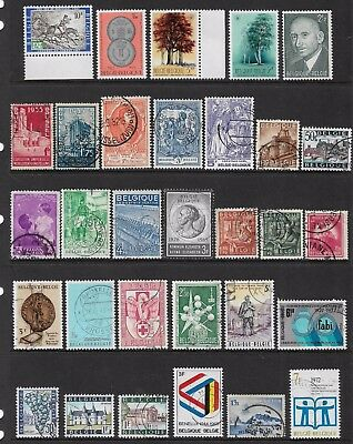 BELGIUM - mixed collection No.14, mint MNH MUH & used
