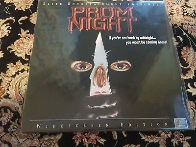Prom Night Laserdisc Horror RARE Elite Entertainment NTSC laser disc Minty