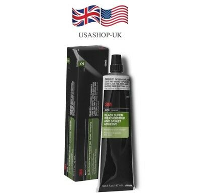 3M Rubber Weatherstrip Seal adhesive (Black) V.Strong  @ £15.00 *free postage.