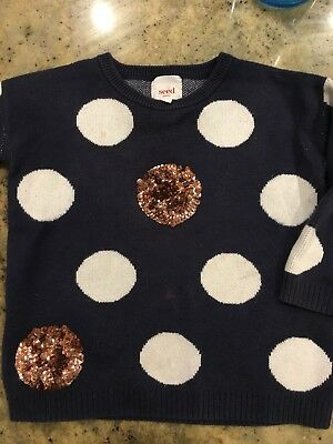 Seed Girls Jumper Size 2-3
