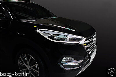 reasonably priced to buy best selling ACCESSOIRES POUR HYUNDAI Tucson 2015-2018 Chrome Phares Cadre Mise au Point