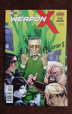 Weapon X issue 12 exclusive Stan Lee Box variant - RARE