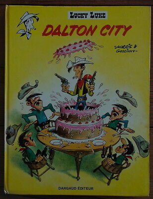 Lucky Luke DALTON CITY Morris & Goscinny  HC 1970 – EO by DARGAUD