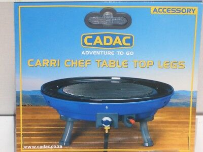 Camping Cadac Gasgrill Grill Carri Chef 1 Table Top Legs Kurze Beine bis 08